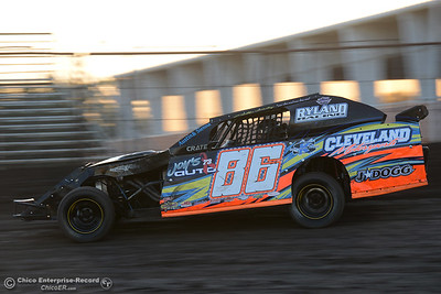 Phillip Shelby as drivers compete Friday, June 30, 2017, at the Silver Dollar Speedway in Points Race No. 8 in Chico, California. (Dan Reidel -- Enterprise-Record)