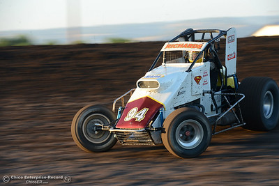 Tony Richards as drivers compete Friday, June 30, 2017, at the Silver Dollar Speedway in Points Race No. 8 in Chico, California. (Dan Reidel -- Enterprise-Record)