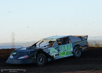 Phil Marino as drivers compete Friday, June 30, 2017, at the Silver Dollar Speedway in Points Race No. 8 in Chico, California. (Dan Reidel -- Enterprise-Record)