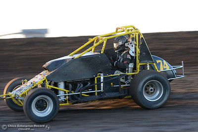 Joshua Tucker as drivers compete Friday, June 30, 2017, at the Silver Dollar Speedway in Points Race No. 8 in Chico, California. (Dan Reidel -- Enterprise-Record)