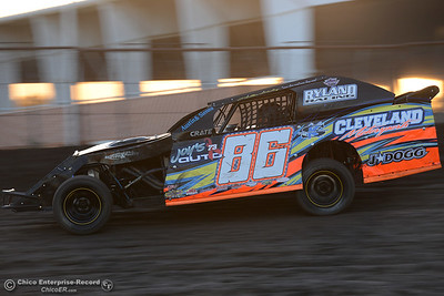 Drivers compete Friday, June 30, 2017, at the Silver Dollar Speedway in Points Race No. 8 in Chico, California. (Dan Reidel -- Enterprise-Record)