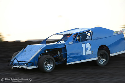 Jeff Fear as drivers compete Friday, June 30, 2017, at the Silver Dollar Speedway in Points Race No. 8 in Chico, California. (Dan Reidel -- Enterprise-Record)