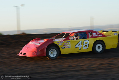Richard Workman as drivers compete Friday, June 30, 2017, at the Silver Dollar Speedway in Points Race No. 8 in Chico, California. (Dan Reidel -- Enterprise-Record)