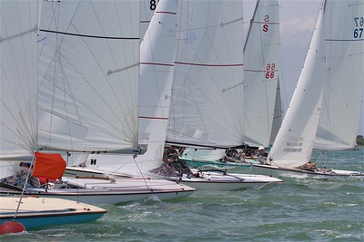 SWALLOW FLEET - START OF RACE
