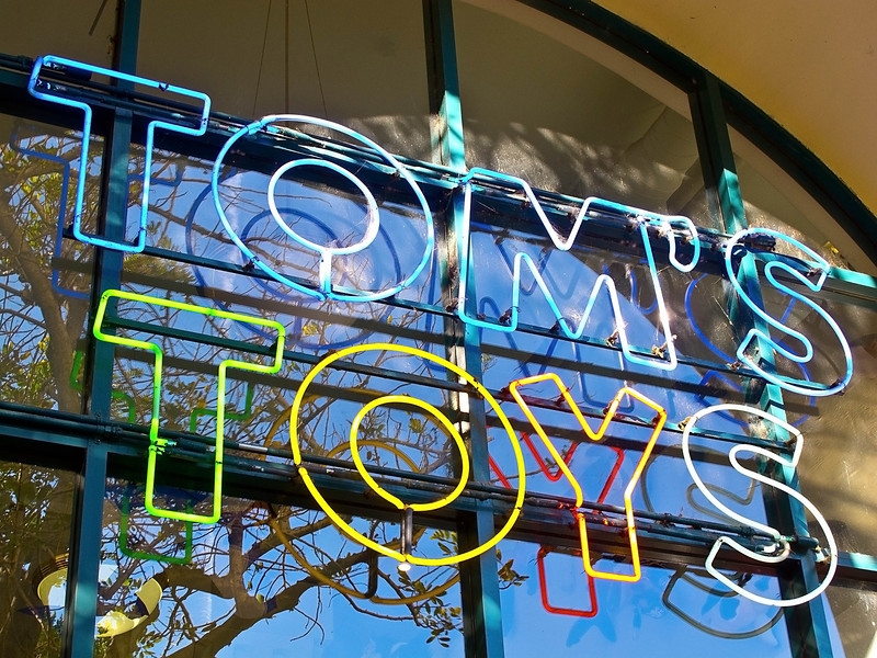 Toystore Sign