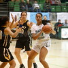 The second quarter of the Pojoaque Valley High School Vs St. Pius X High School at Pojoaque on Tuesday, January 7, 2019. Luis Sánchez Saturno/The New Mexican