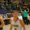 The first quarter of the Pojoaque Valley High School Vs St. Pius X High School at Pojoaque on Tuesday, January 7, 2019. Luis Sánchez Saturno/The New Mexican