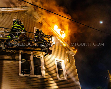 Structure fire with rescue of occupant - 7 North Hamilton St.  - City of Poughkeepsie FD. - 8/28/2016