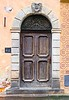 Old doorway, Warsaw, Poland.