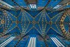 Ceiling in St. Mary's Basilica, Krakow.