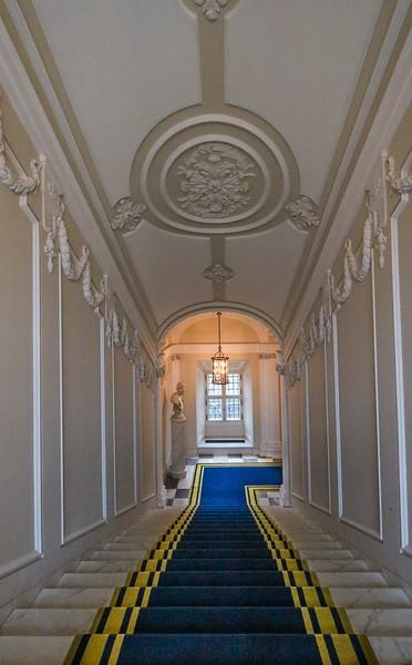 Royal Palace stairway, Warsaw.