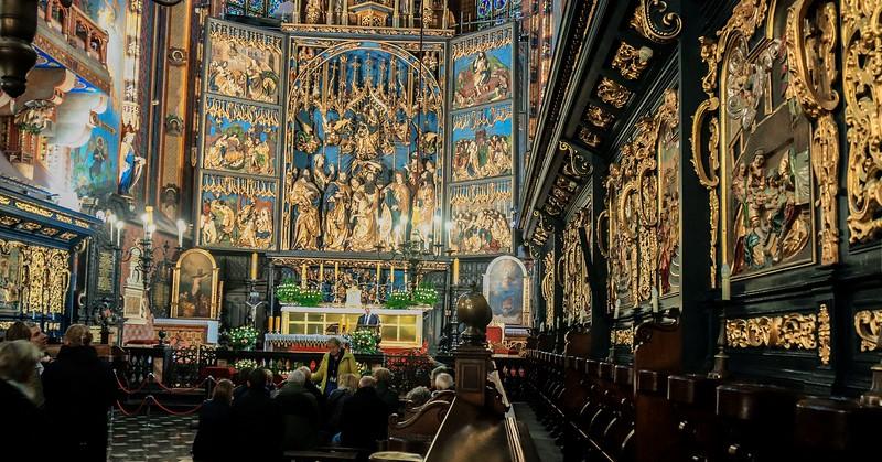 St. Mary's Basilica, Krakow Poland.
