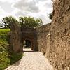 Gate at Bolkow Castle, Poland