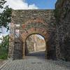Entrance to Bolkow Castle, Poland