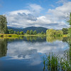 Lakes around Cieplice, Poland