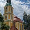 Beautiful church in Cieplice, Poland