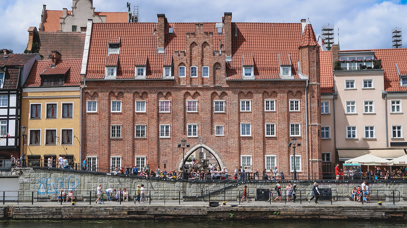 Brick gates in Gdansk - maybe this should be called the City of Gates.