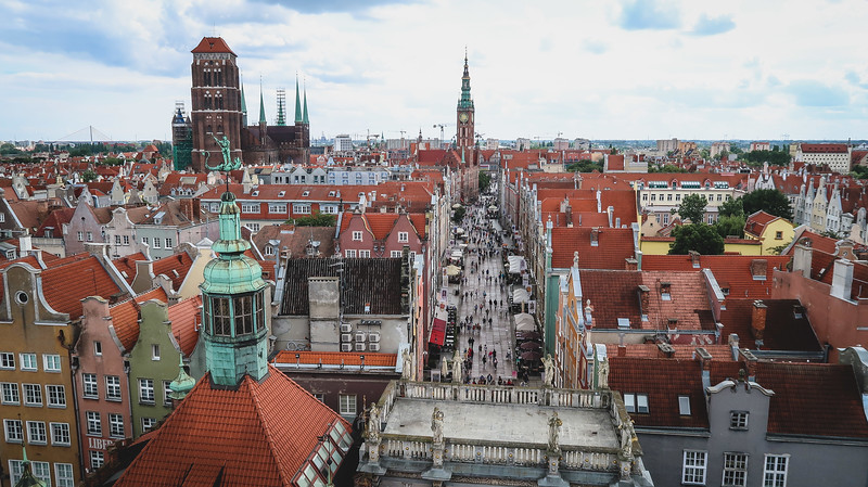 Best views of Gdansk? The ones from the Amber Museum are pretty good.