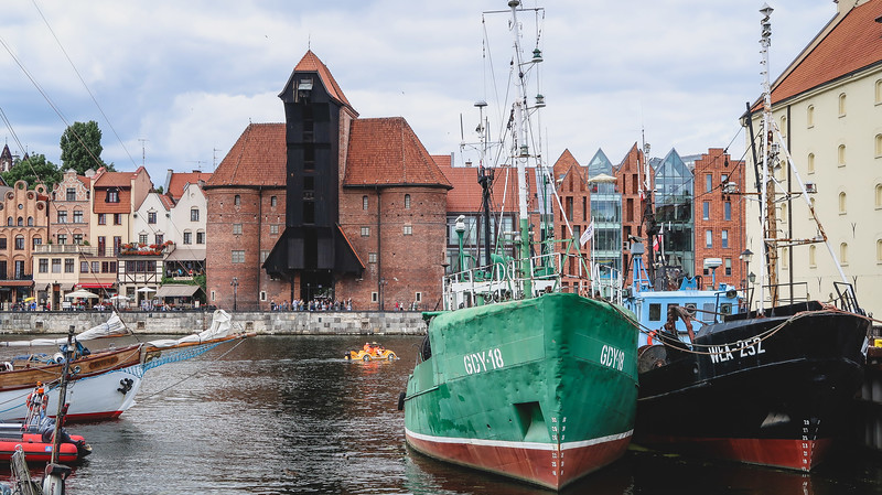 A visit to Gdansk isn't complete without a walk along the waterfront