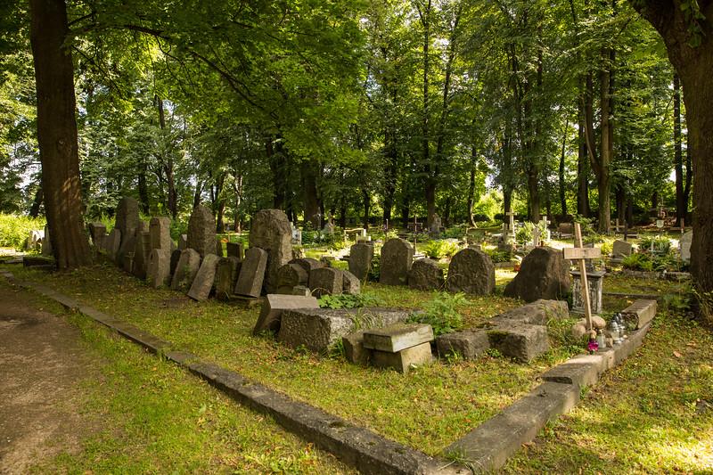 Historic cemetery near Jelenia Gora, Poland