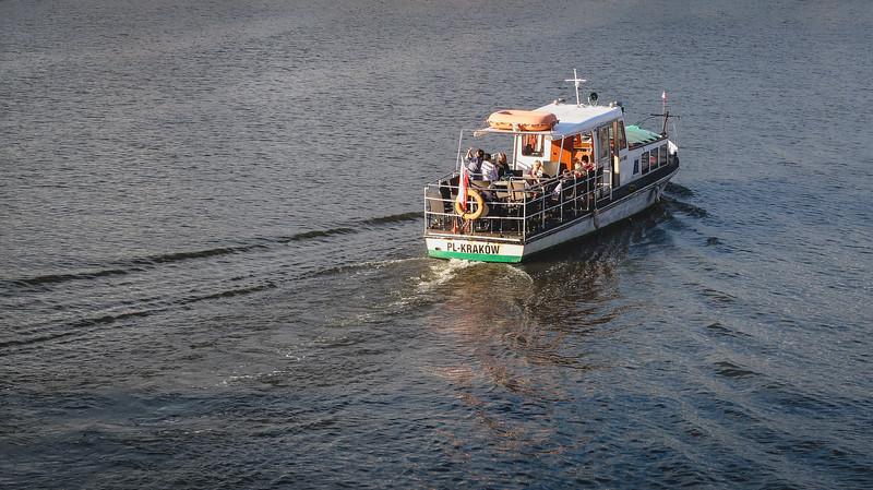 Boat tour in Krakow
