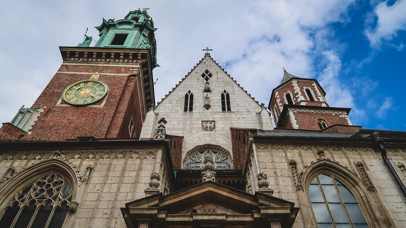 Visiting Wawel Castle in Krakow, Poland