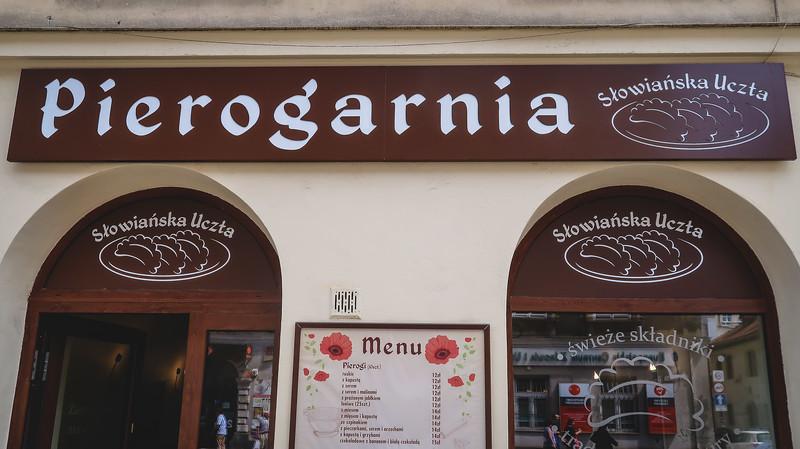 The best pierogi in Krakow are at Pierogarnia Słowiańska Uczta
