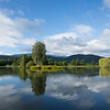 Beautiful lakes around Cieplice, Poland