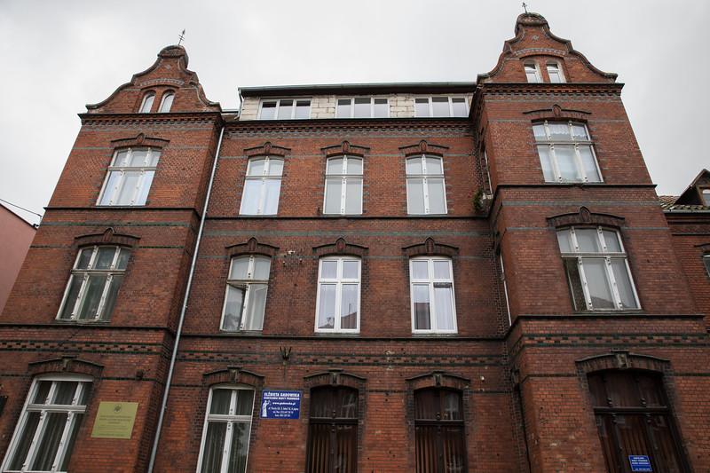 Historic buildings at Malbork Poland