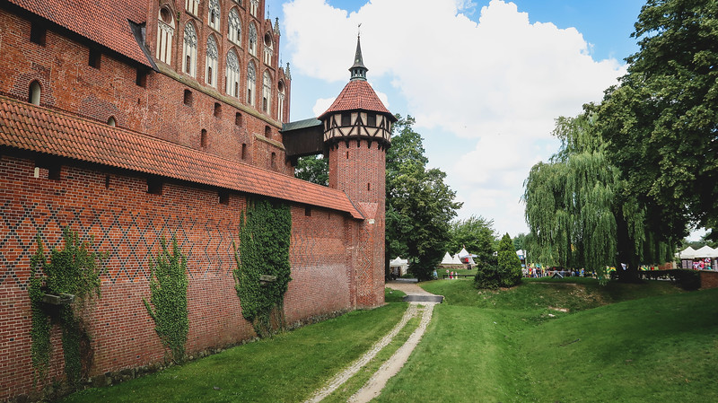 Exploring Malbork Castle in Poland