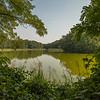 Lakes surrounding Moszna Castle, Poland