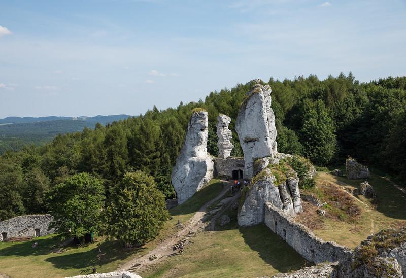 Torture chamber, Ogrodzieniec Castle, Poland