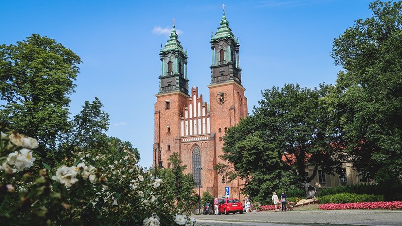 Visiting Cathedral Island in Poznan