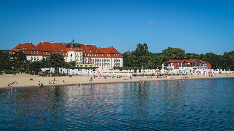 Hotel Grand Sopot, the most desirable hotel in the whole town!