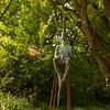 Statues at Warsaw Botanical Gardens, Poland