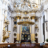 Beautiful churches of Warsaw, Poland