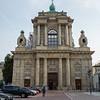 Beautiful church in Warsaw, Poland