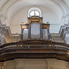 Organ in church, Warsaw Poland