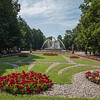 Warsaw gardens, Poland