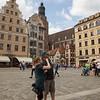 Shaun and Monika in Wroclaw, Poland