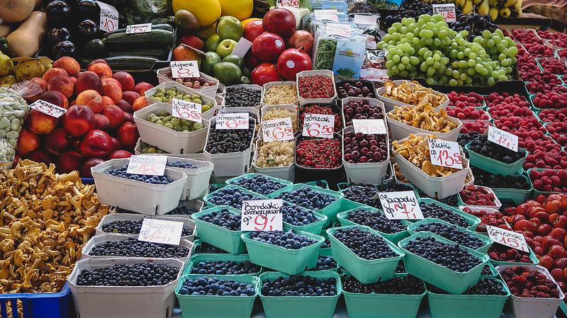 Hala Targowa for fresh produce.
