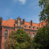 Beautiful buildings of Wroclaw, Poland