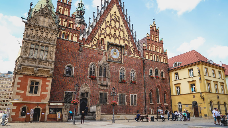 The Old Town Hall in Wroclaw.