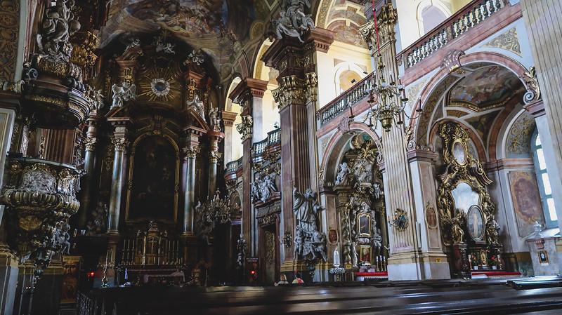 Baroque and Roccoco architecture.