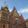 Beautiful buildings in Wroclaw, Poland