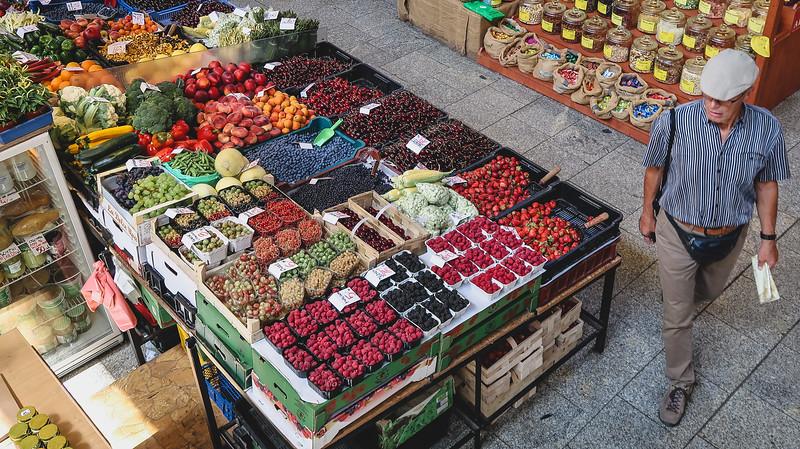 Shopping fresh in Wroclaw.