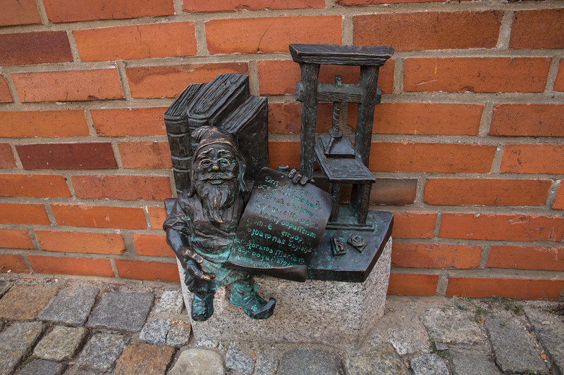 Elves of Wroclaw, Poland