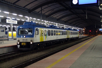 2) STP, SN83 004 (95 51 2810 060-4 PL-STP )at Katowice on 17th February 2014. Ex NS DMU.