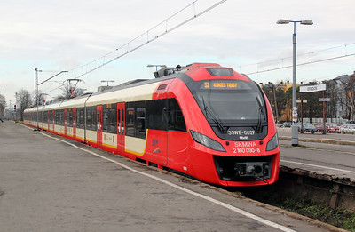 1) SKM, 2160 090 (PL-SKMWA 94 51 2160 090-8 or 35WE 002F) at Otwock on 3rd November 2012