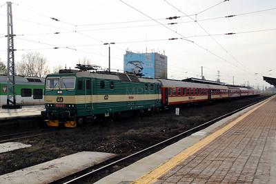 CD, 163 041 (CZ-CD 91 54 7163 041-7) at Warsaw Zachodnia on 2nd November 2012